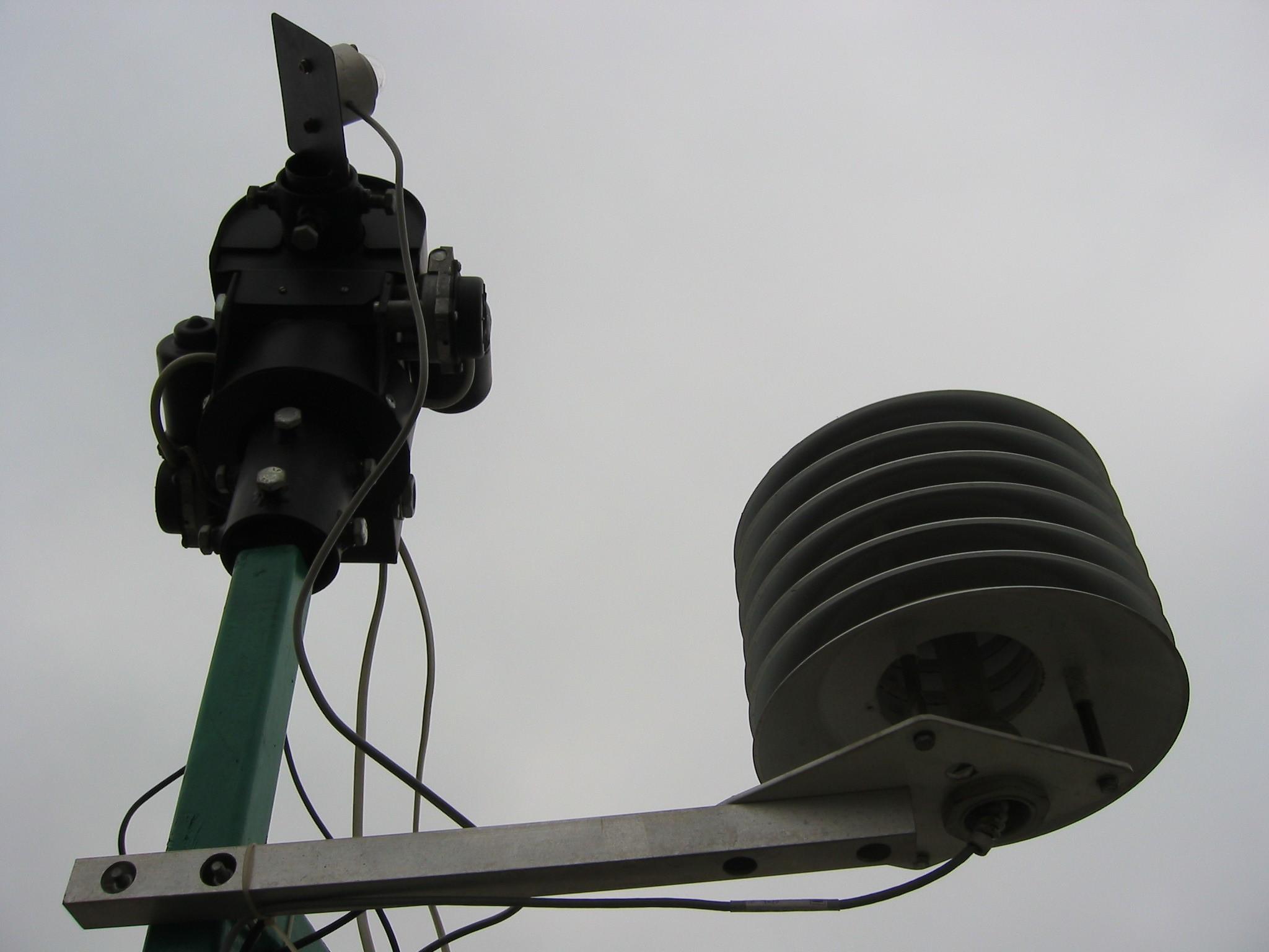 Stacja SGGW: klatka meteo z LB-710R