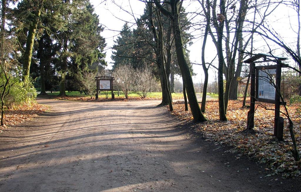Park przydworsdki - Narwiański Park Narodowy