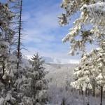 Karpacz - Bardzo zimowy pejzaż