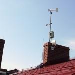 Wiatromierz i miernik promieniowania słonecznego