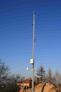 Widok instalacji Stacji Meteo Kańczuga